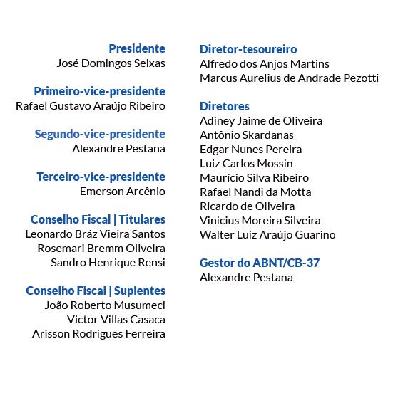Lista de nomes - DIRETORIA NOVA 2020