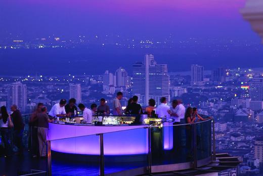 Vista de bares
