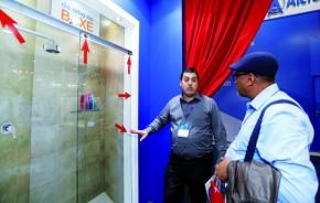 Lançamento do De Olho no Boxe: vidraceiro oferece a manutenção preventiva e cadastre-se no 'site' do programa