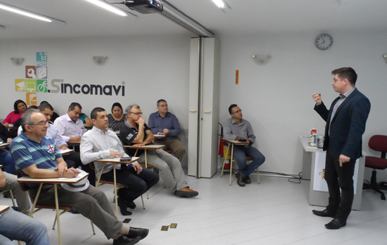 Sincomavi-SP anuncia primeira palestra para 2017