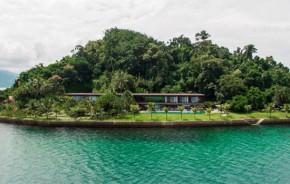Vidro é solução ideal para construção em ilha de Angra dos Reis