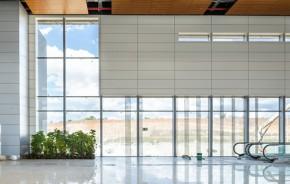 Aeroporto de Belo Horizonte ganha novo terminal envidraçado