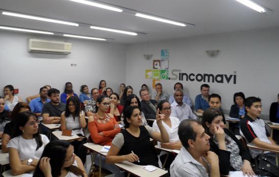 Previdência e loja virtual: temas de palestras do Sincomavi-SP