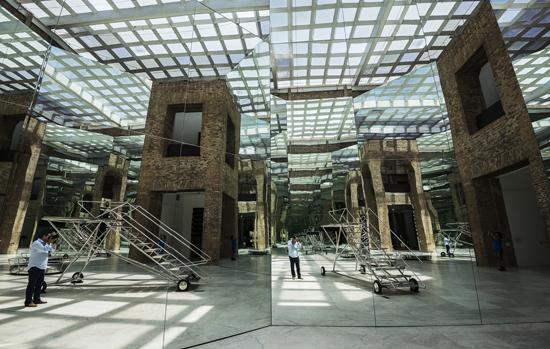Resultado de imagem para sala dos espelhos pinacoteca sp 2017