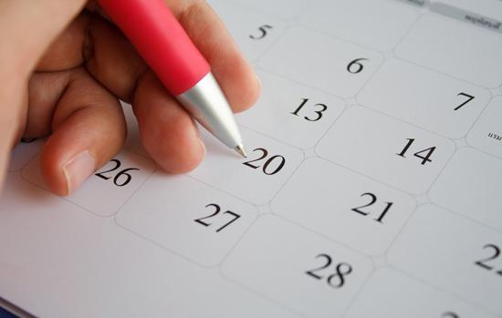 Anote na agenda os principais eventos de 2018!