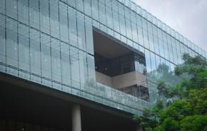 Nova sede da Natura em São Paulo tem 'brises' de vidro