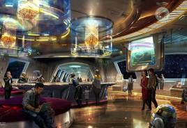 Parque de Star Wars na Disney terá vidro em naves espaciais