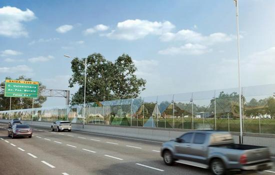 Raia Olímpica da USP ganhará muro de vidro