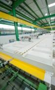'Coater' da Cebrace, em Jacareí (SP): equipamento é instalado após a linha de produção do 'float'
