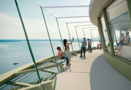 Observatório em Seattle ganhará piso de vidro após reforma