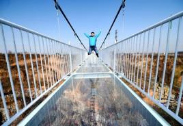 China inaugura nova ponte de vidro. Sim, mais uma!