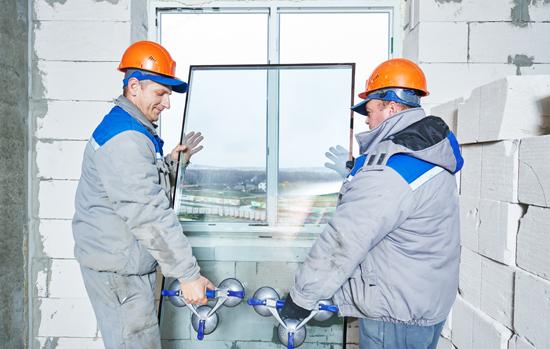 window installation or glazing