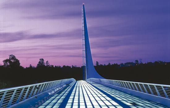 Sundial Bridge California USA 3