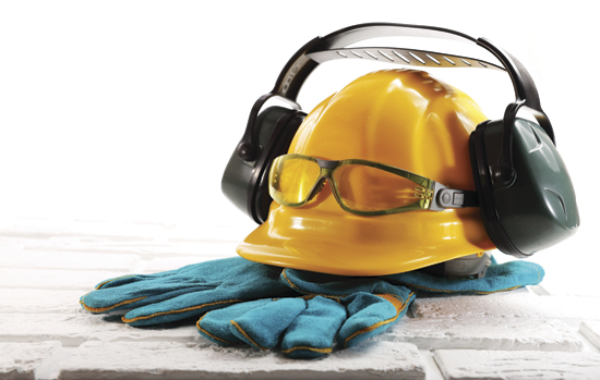 Compliance with safety rules at the construction site