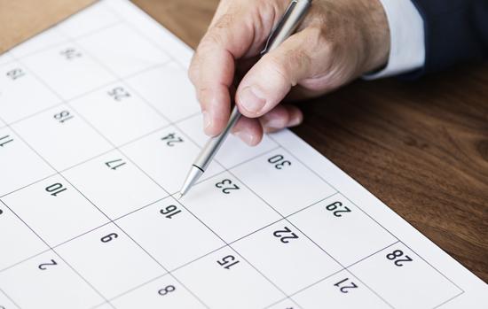 Confira as novas datas dos principais eventos do setor