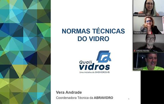 Abravidro e Sindividros-RS realizam palestra na Construsul Online